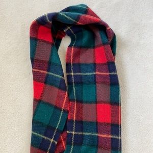 Authentic Irish plaid scarf